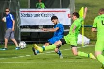 NEB Turnier Tag 1: Kirchheim (blau) gewinnt gegen Gemmrigheim