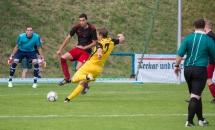 Dennis Nissan (im schwarz-gelben Trikot) ist für die SGM Hohenhaslach/Freudental erfolgreich.